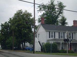 Historic home located on the corner of Hwy 68 & S. East Street